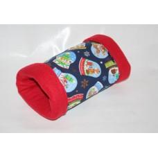 Kuschelrolle - Weihnachten (Schnneekugel)