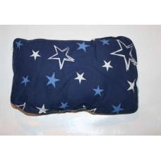 XL Baldriankissen Kuschel-Kitty (Blaue Sterne)