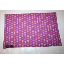 XL Urindichte-Decke (lila Blumen)