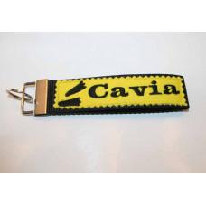 Schlüssel-Anhänger / Cavia/ Gelb