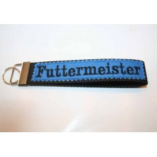 Schlüssel-Anhänger / Futtermeister / Blau