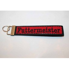 Schlüssel-Anhänger / Futtermeister / Rot