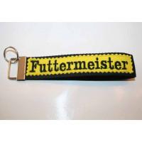 Schlüssel-Anhänger / Futtermeister / Gelb