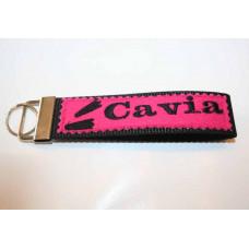 Schlüssel-Anhänger / Cavia / Pink