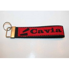 Schlüssel-Anhänger / Cavia / Rot