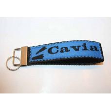 Schlüssel-Anhänger / Cavia / Blau