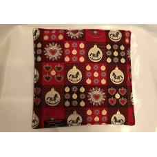 Kleine-Urindichtedecke Weihnachten (rot / gold)