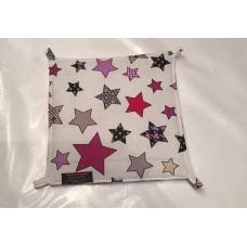 Hängematte (30x30) Sterne Pink