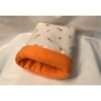 Kuschelsack (orange Rosen)