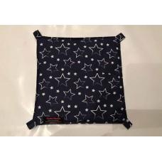 Hängematte (30x30) Sterne Blau