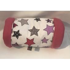 Kuschelrolle (Sterne Pink)