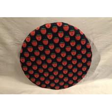 Bezug für Drehteller 38 cm bis 35cm Ø (Erdbeere)