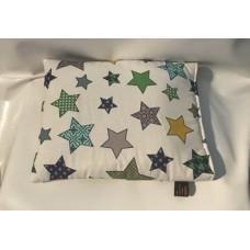 Kühl-Kissen (Sterne Grün)