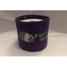 Klopapier Banderole - WC Papier Schutz (Lila-Für´n Arsch)