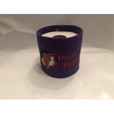 Klopapier Banderole - WC Papier Schutz (Lila-Pups-Papier)