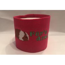 Klopapier Banderole - WC Papier Schutz (Pink-Für´n Arsch)