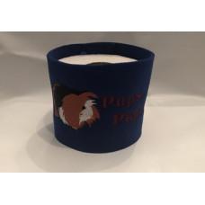 Klopapier Banderole - WC Papier Schutz (Blau-Pups-Papier)