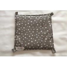 Hängematte (30x30) Sterne Grau