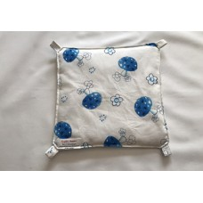 Hängematte (30x30) Pilze blau