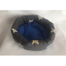 Kuschel-Nest (Sterne grau)