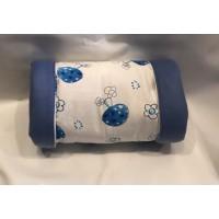 Kuschelrolle (Pilze Blau)