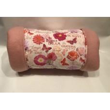 Kuschelrolle (Blumen Rosa)