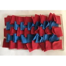 Schnüffelteppich (blau - rot)
